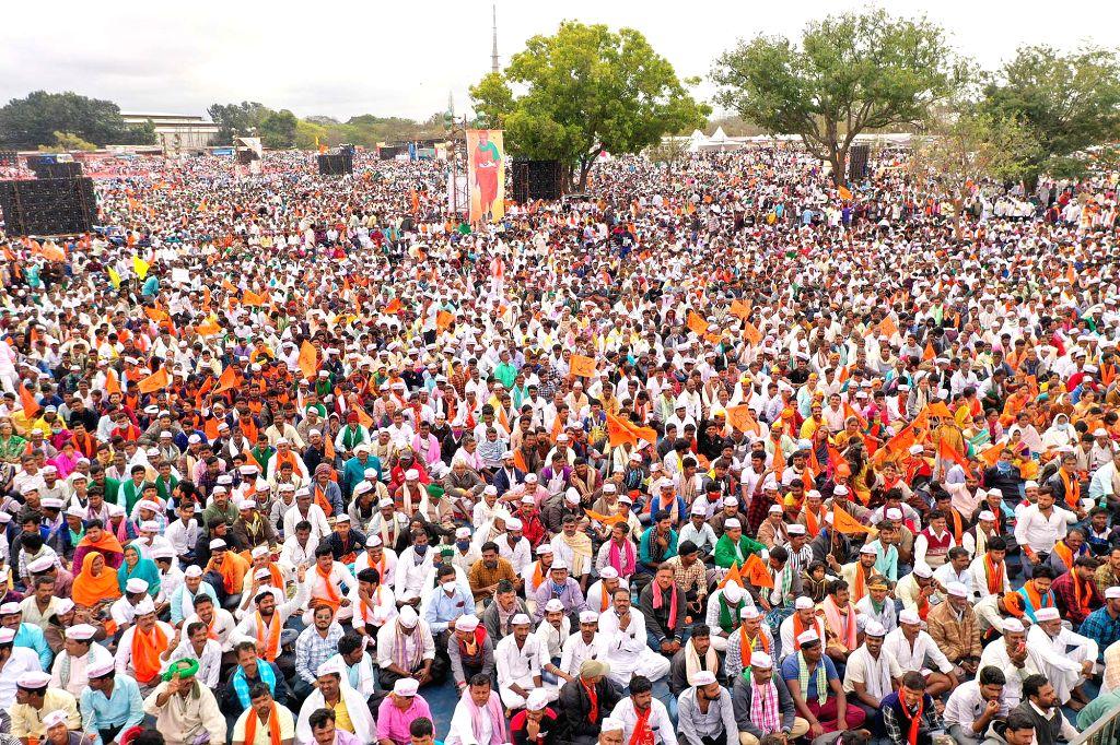 Karnataka's Panchamasali Lingayats seek job, education quota (Photo: IANS)