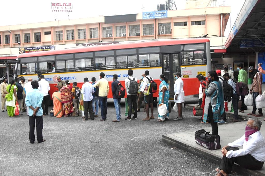 Karnataka State Road Transport Corporation (KSRTC) has rewarded octogenarian pond rejuvenation champion Kamegowda with a free lifetime bus pass, an official said on Thursday. (Photo: IANS)
