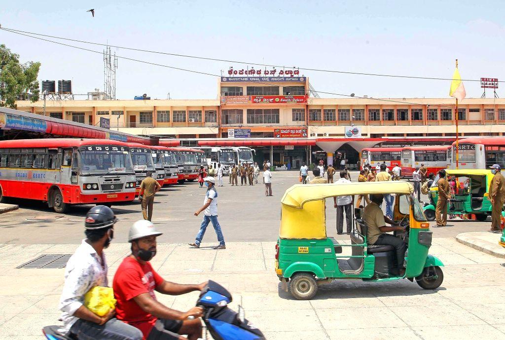 Karnataka will not observe a total lockdown on Sunday, unlike a week ago, an official said on Saturday. Last Sunday, Karnataka government had observed a total lockdown.(Photo: IANS)