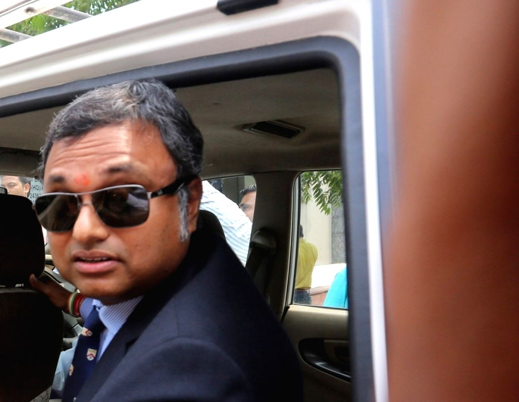 Karti Chidambaram. (File photo: IANS)