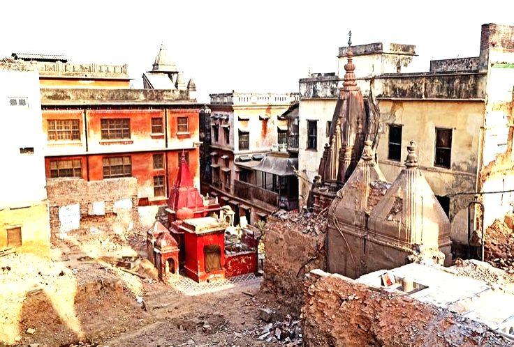 Kashi Vishwanath corridor project.