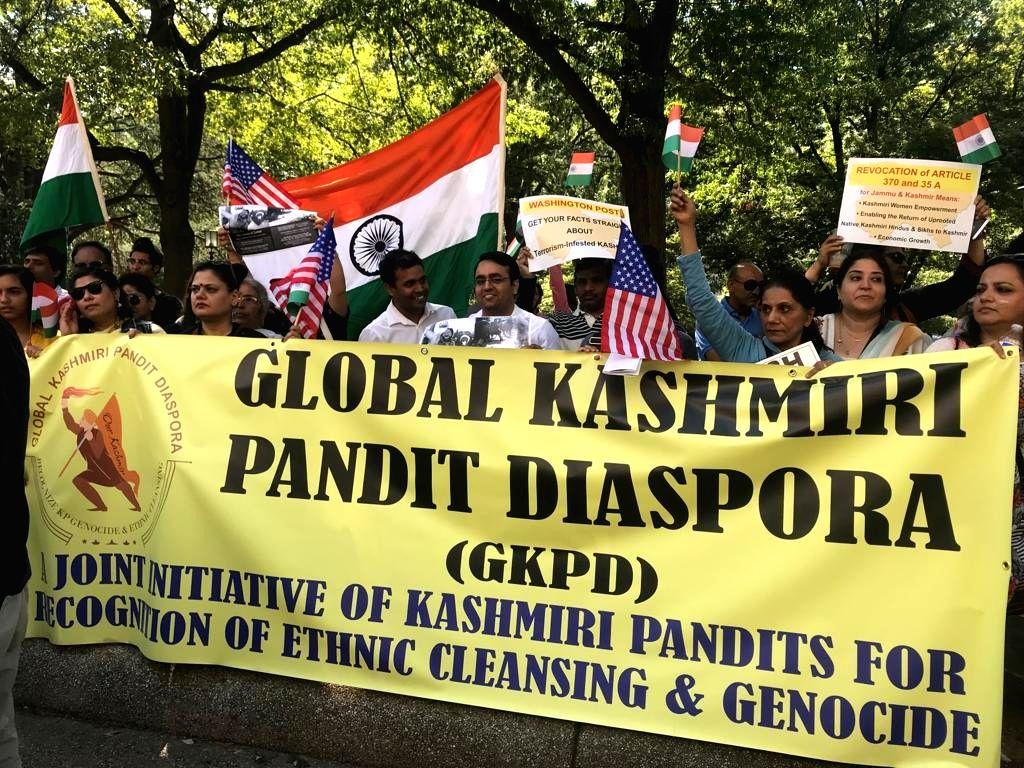 Kashmiri Pandits slam 'biased' media coverage on Kashmir