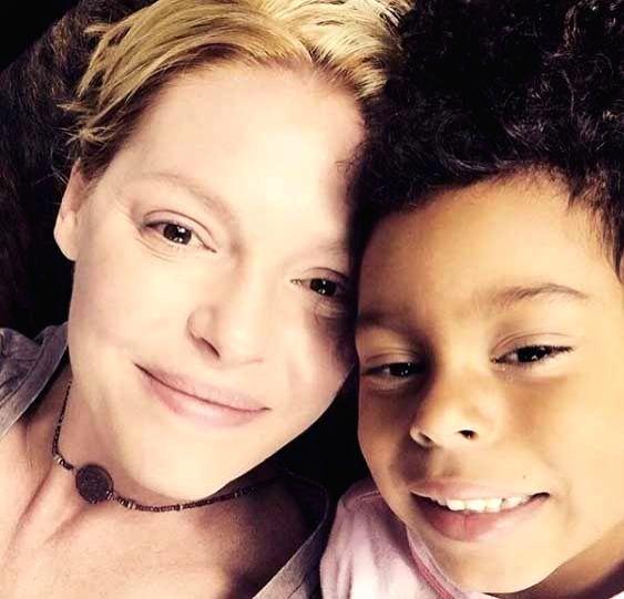 Katherine Heigl struggles to explain racism to daughter.