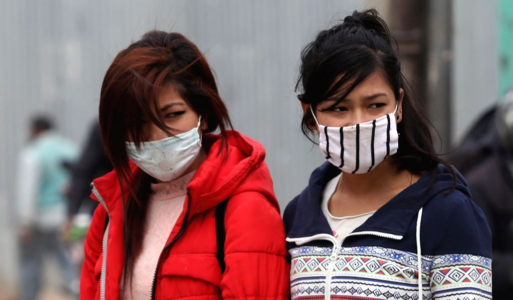 Kathmandu air pollution diverts flights