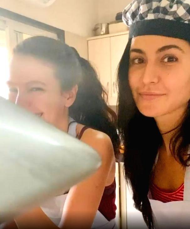 Katrina Kaif is 'not sure' of what she cooked!. - Katrina Kaif