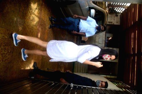Katrina Kaif Spotted at Zoya Akhtar House In Bandra On Tuesday, 07 June, 2021. - Katrina Kaif