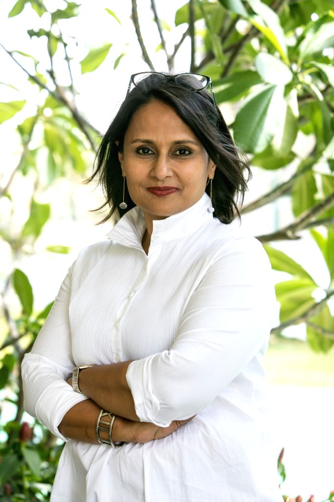 Kavita Gupta Sabharwal, the founder of the Neev Literature Festival - Kavita Gupta Sabharwal