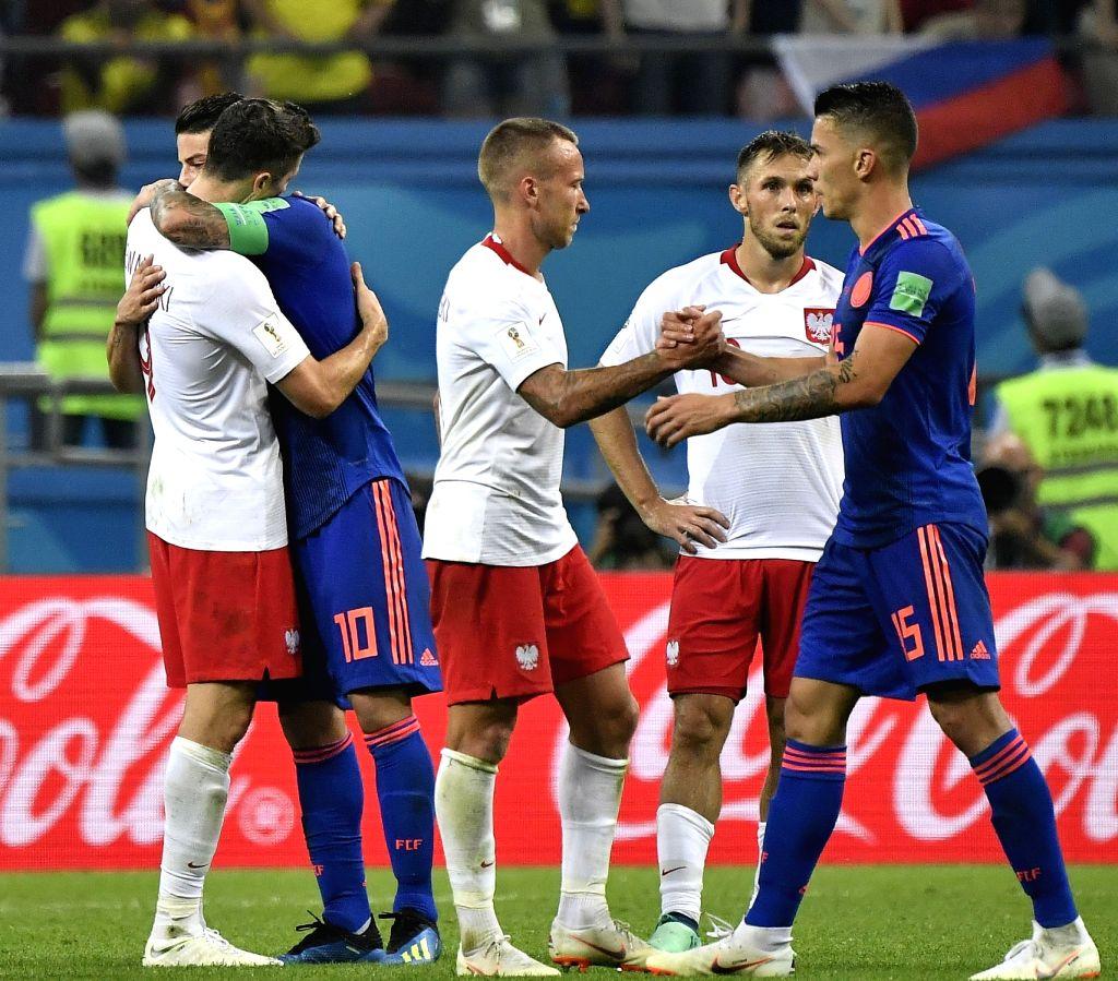 e56018ebd15 RUSSIA-KAZAN-2018 WORLD CUP-GROUP H-POLAND VS COLOMBIA