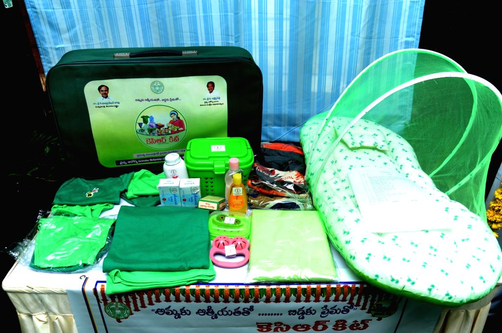 """KCR Kits"""" for new mothers."""