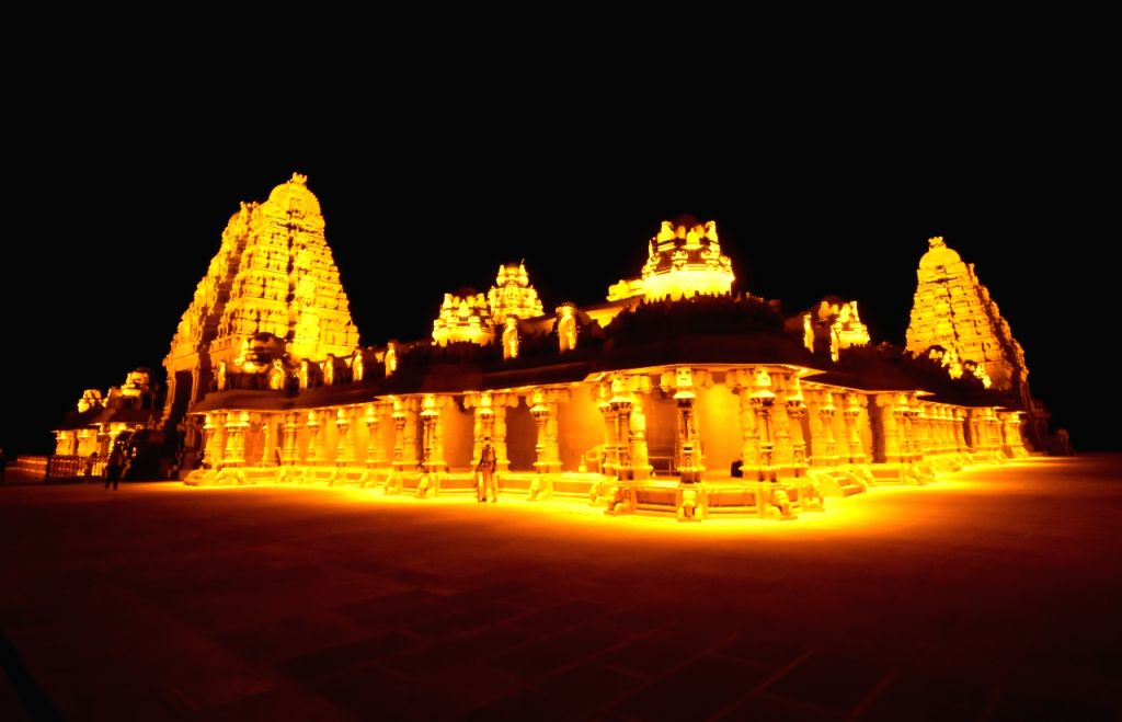 KCR orders for early completion of Yadadri temple renovation.