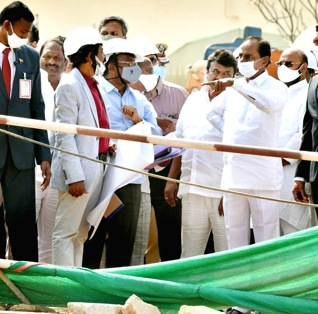 KCR wants work on his dream project to be speeded up.