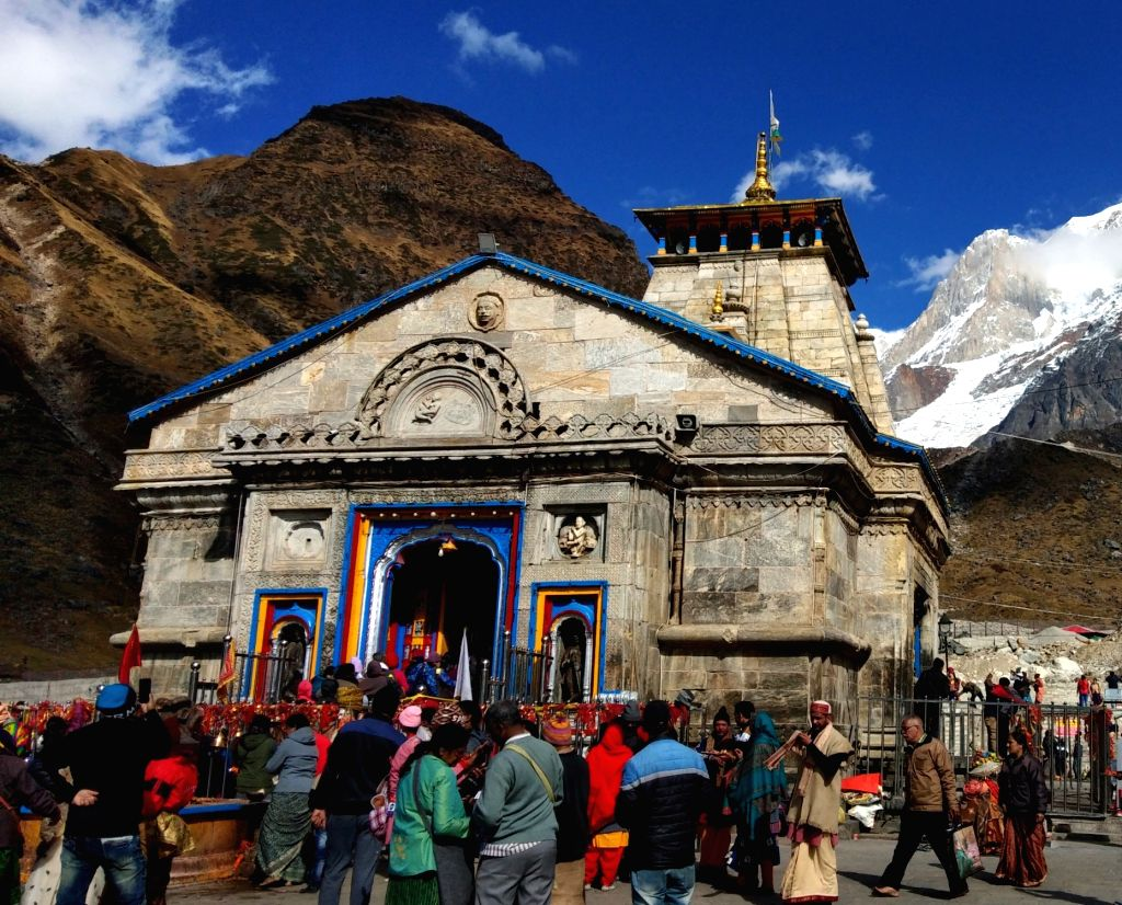 Kedarnath temple. (File Photo: IANS)