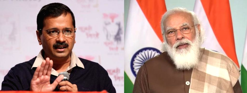 Kejriwal and Modi.