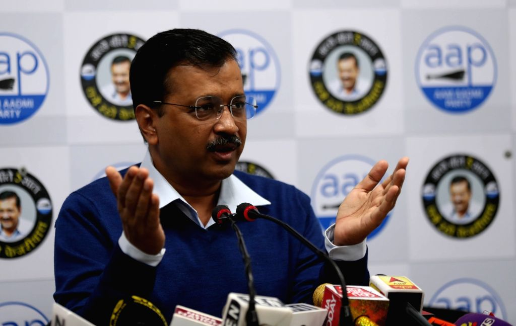 Kejriwal's 10 'guarantees' before Delhi polls. (Photo: IANS)