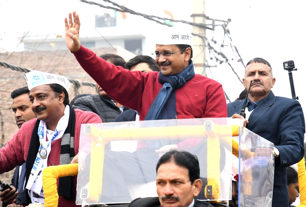 Kejriwal to hold roadshows in 5 constituencies on Thursday
