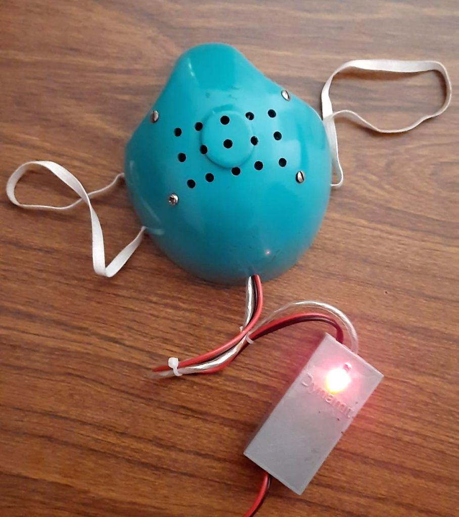 Kerala innovator's hot air inhaler