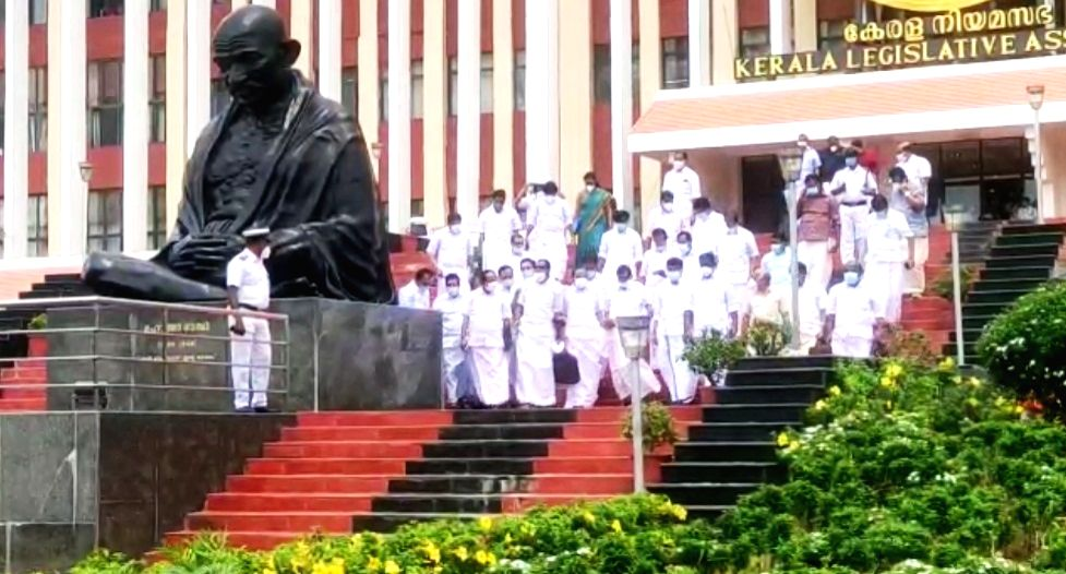 Kerala Opposition up in arms demands resignation of 'unruly' Education Minister.