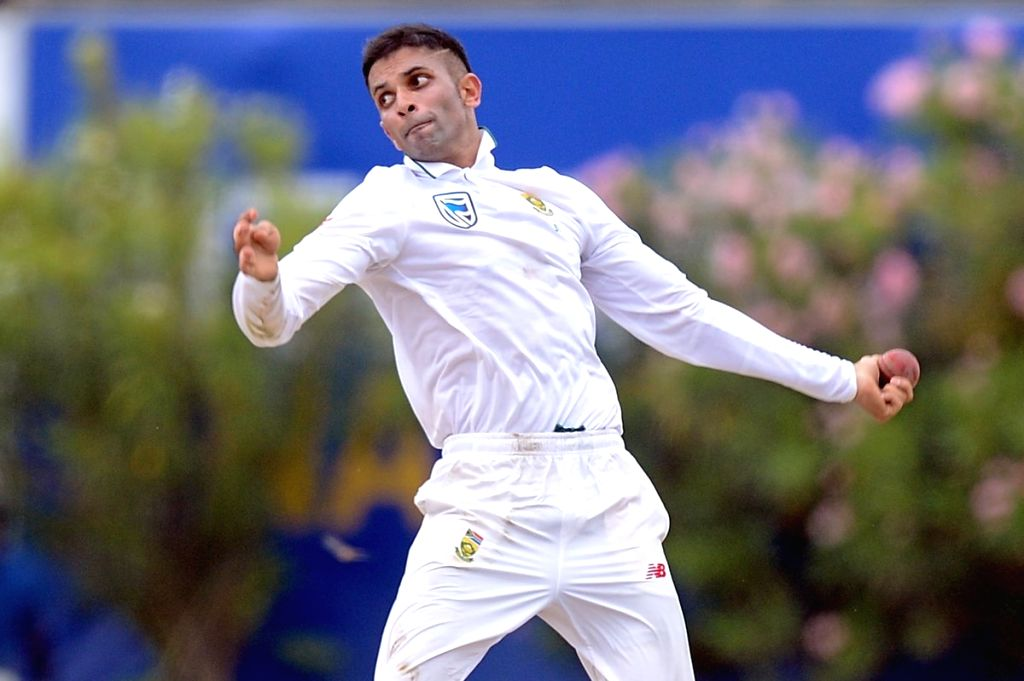 Keshav Maharaj. (Photo: Twitter/@OfficialCSA)