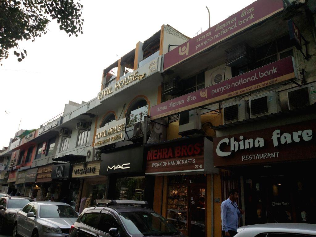 Khan Market. (File Photo: Bidesh Manna/IANS)