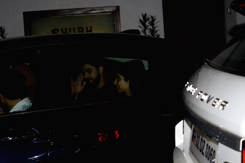 Khushi Kapoor seen in Mumbai on Aug 8, 2019. - Khushi Kapoor