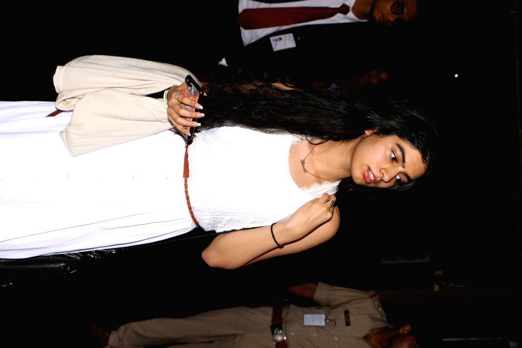 Khushi Kapoor spotted at airport, in Mumbai, on May 29, 2017. - Khushi Kapoor