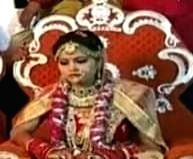 Khushi minor bride of Bikru accused.