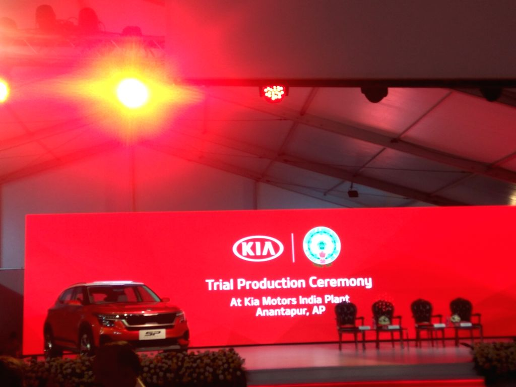 Kia Motors commenced trial production at its India plant in Anantapur district of Andhra Pradesh, on Jan 29, 2019.