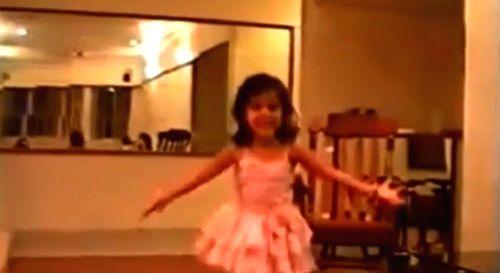 Kiara Advani shares childhood videos. - Kiara Advani