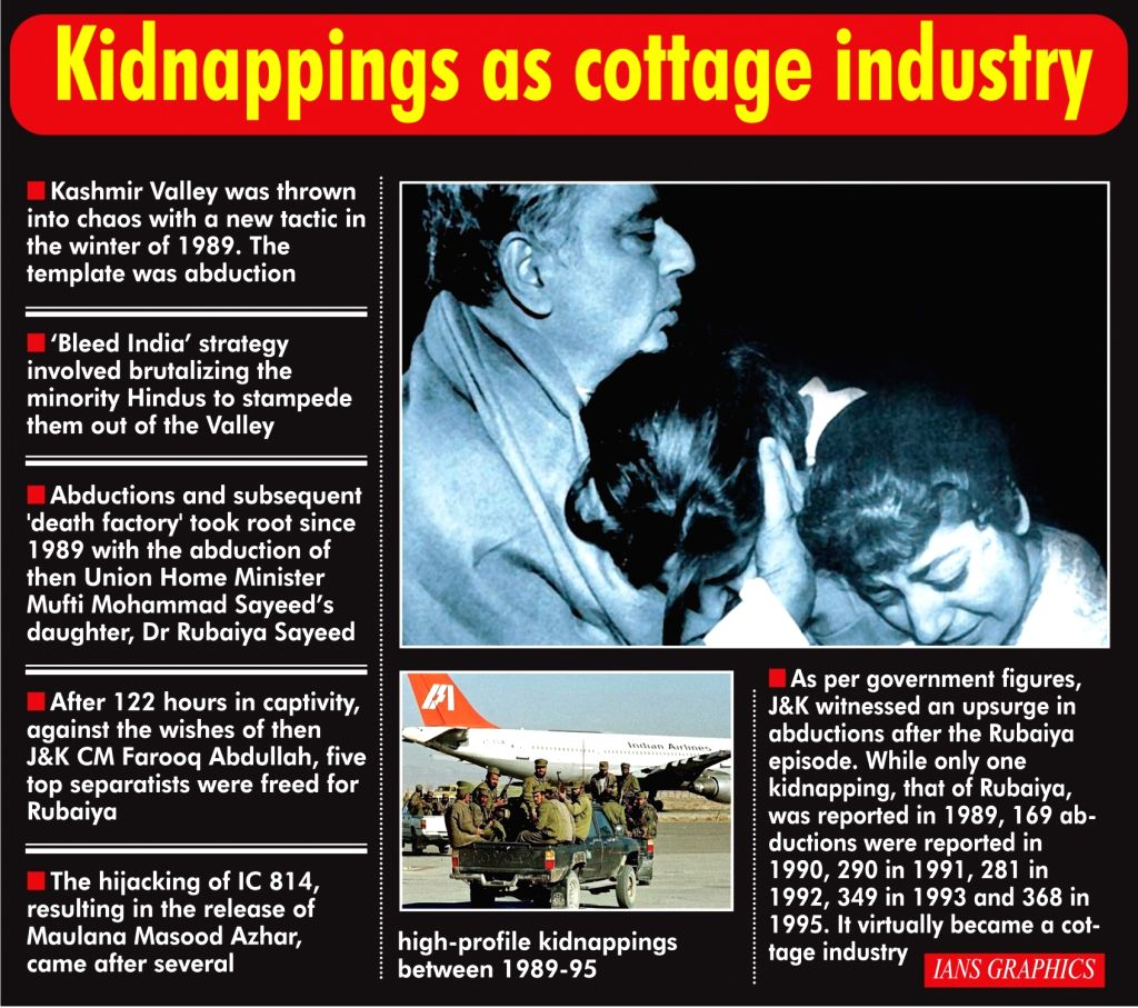 Kidnappings as cottage industry.