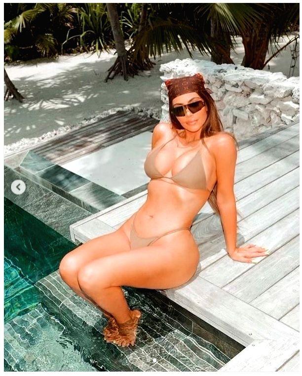 Kim Kardashian's new bikini pic is about old memories - Kim Kardashian