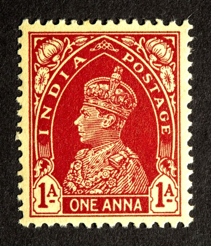 King George VI India Postage stamps issued during the British Rule in India. This unique series features stamps that depict the face of King George VI, the last Emperor of India. This series also features different modes of transportation used in Ind