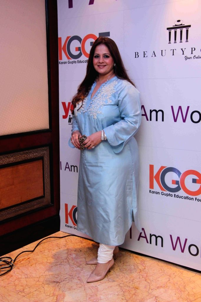Kiran Bawa, cosmetologist and MD, Iosis Medisp during I am Woman event, in Mumbai on April 5, 2016.