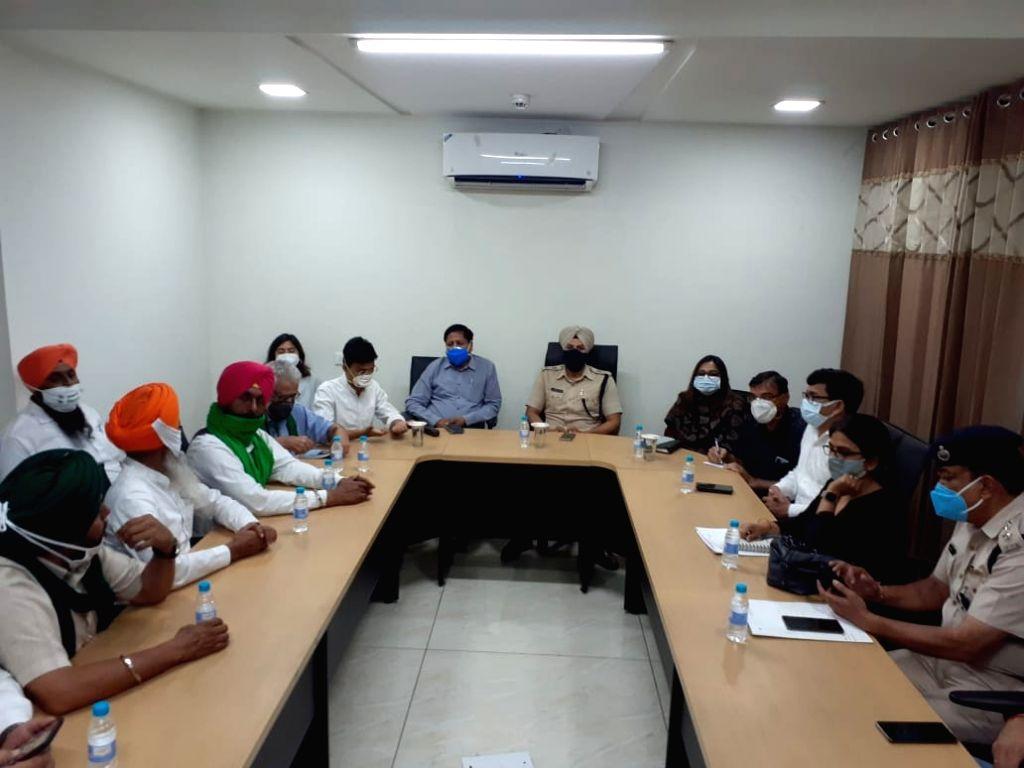Kisan Morcha meeting with Haryana administration