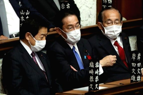 Kishida's Cabinet members list priorities on 1st work day