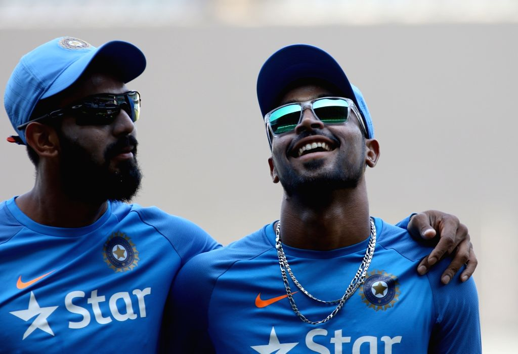 KL Rahul and Hardik Pandya. (File Photo: IANS)