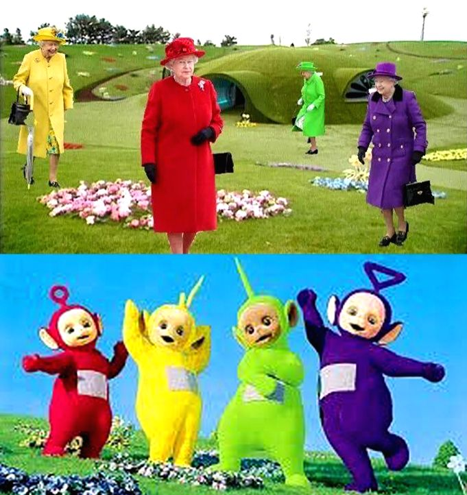 """Known for his quirky posts on Twitter, SpaceX founder and Tesla CEO Elon Musk on Sunday took to Twitter to compare Queen Elizabeth II with the characters of the TV series """"Teletubbies""""."""