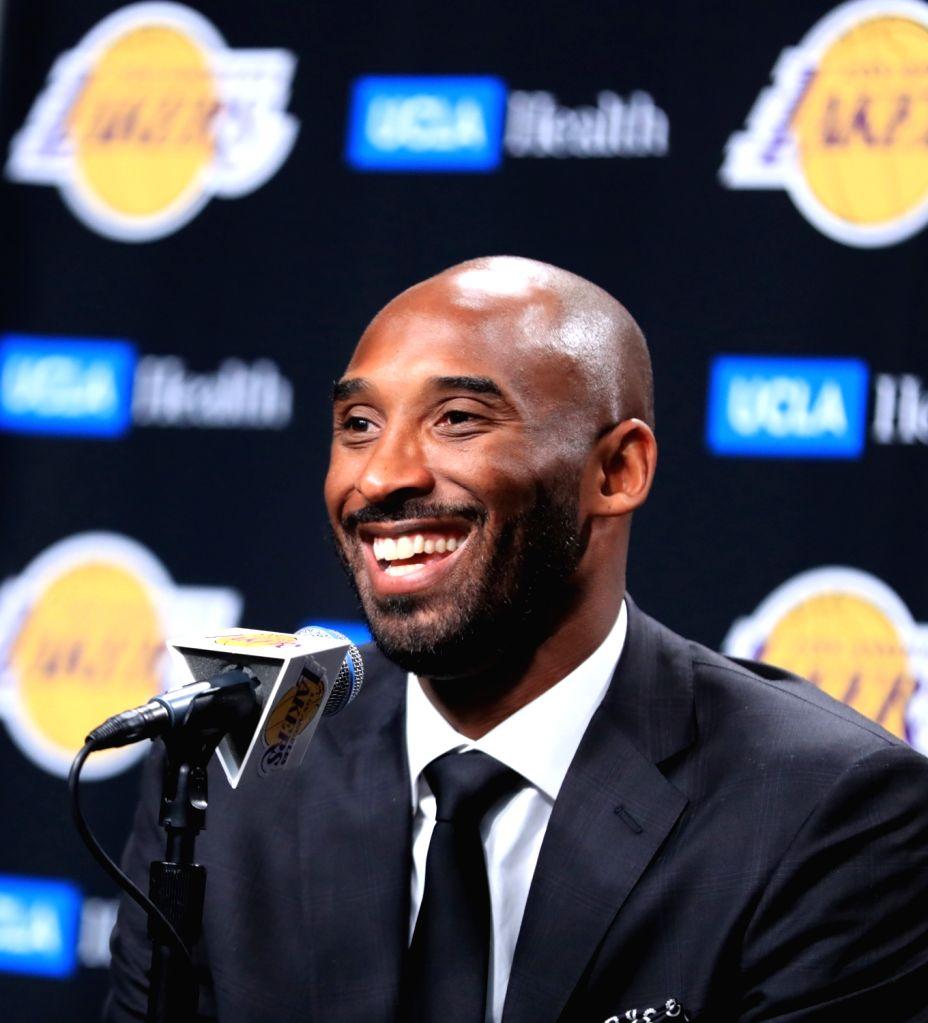 Kobe Bryant. (Xinhua/Li Ying/IANS)