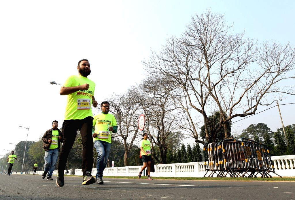 Kochi (Kerala), April 13 (IANS) Running a marathon for a cause may seem to be a far fetched wish in these corona times. But for a banking official, the commitment to marathoning and showcasing it as a cause made him to run 42 kms at a stretch not on