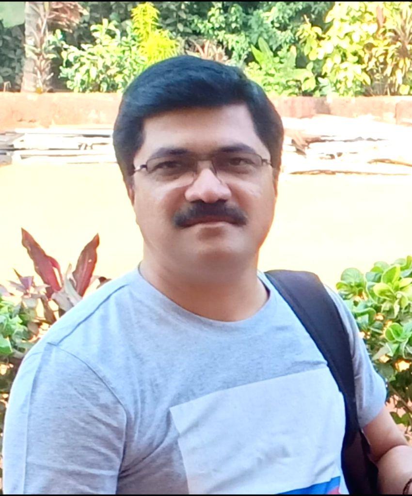 Kokan Crocodile Safari Proprietor Sandesh S. Sansare.