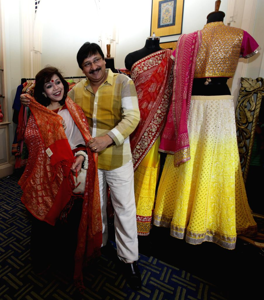 Actor Arjun Chakrabarty during the ``FireFlies`` Fashion and Lifestyle Exhibition in Kolkata on 14 March 2015. - Arjun Chakrabarty