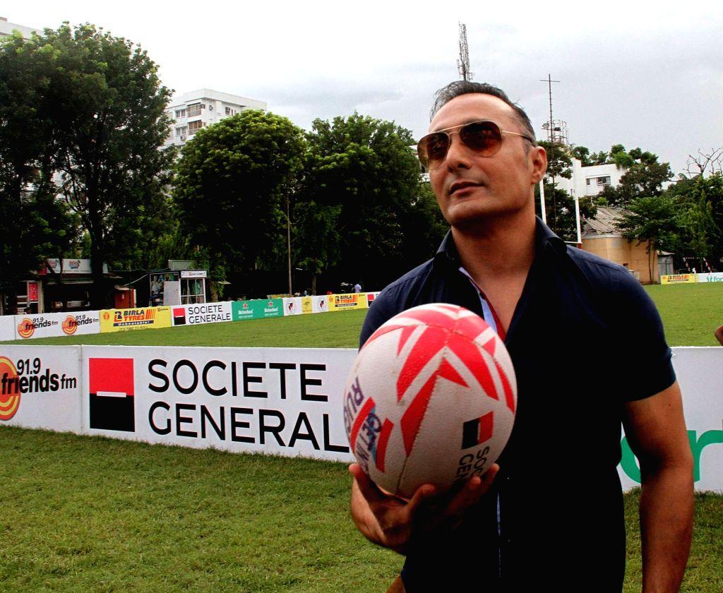 Kolkata: Actor Rahul Bose during a women Rugby match in Kolkata on Sept 23, 2016. (Photo: IANS) - Rahul Bose