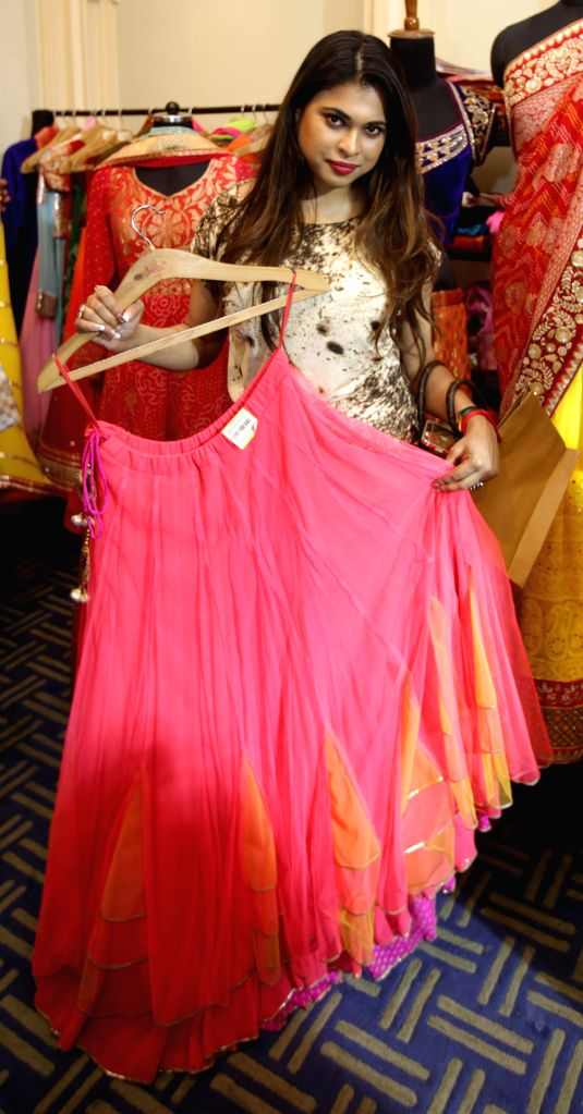 Actress Neha Pande during the ``FireFlies`` Fashion and Lifestyle Exhibition in Kolkata on 14 March 2015. - Neha Pande