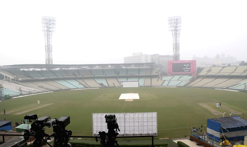 Kolkata, April 19 (IANS) Had the coronavirus pandemic not brought the world to a standstill, Eden Gardens pitch curator Sujan Mukherjee would not be idling around on a Sunday morning with his cuppa. - Sujan Mukherjee