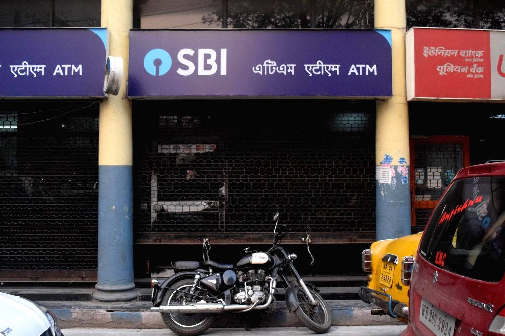 Kolkata: Banks remain closed during a nationwide strike called by the United Forum of Bank Unions (UFBU) against bank mergers and pay revision, in Kolkata on Dec 26, 2018. (Photo: IANS)