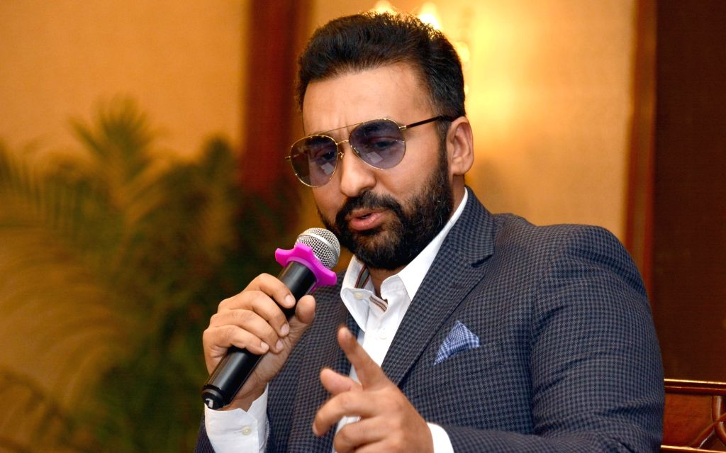 Kolkata: British businessman Raj Kundra during an interactive session in Kolkata, on March 30, 2018. (Photo: IANS) - Raj Kundra