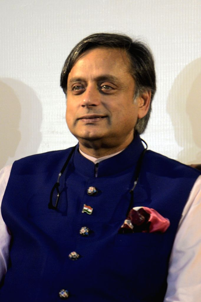 Kolkata: Congress leader Shashi Tharoor during an interactive session over Manifesto Consultation in Kolkata on Nov. 3, 2018. (Photo: IANS) - Shashi Tharoor