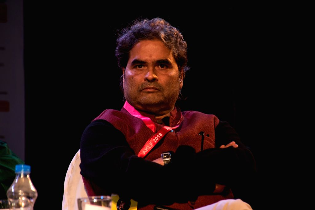 Kolkata: Filmmaker Vishal Bhardwaj at Apeejay Kolkata Literary Festival in Kolkata, on Jan 13, 2018. (Photo: IANS) - Vishal Bhardwaj