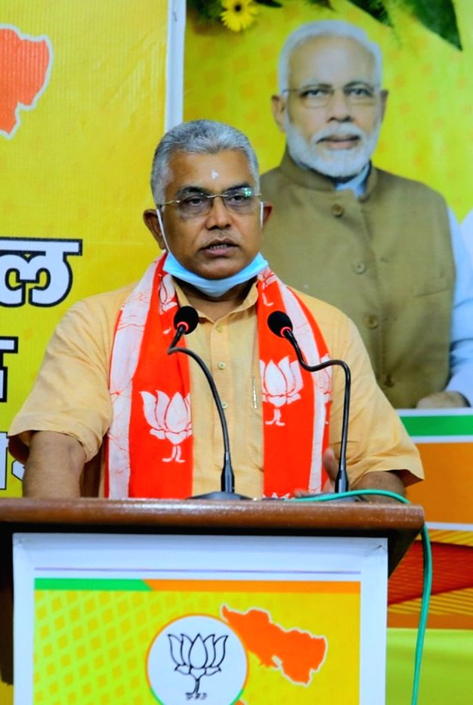 Kolkata, June 23 (IANS) West Bengal Bharatiya Janata Party (BJP) president Dilip Ghosh on Tuesday once again courted fresh controversy as he said that his party would adopt the same political strategy to counter the state's ruling Trinamool Congress  - Dilip Ghosh
