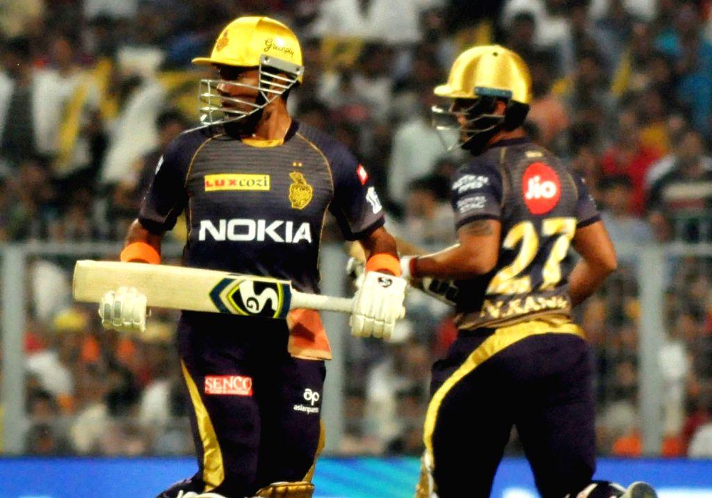 IPL: Russell, Rana light up Eden as KKR post 218/4