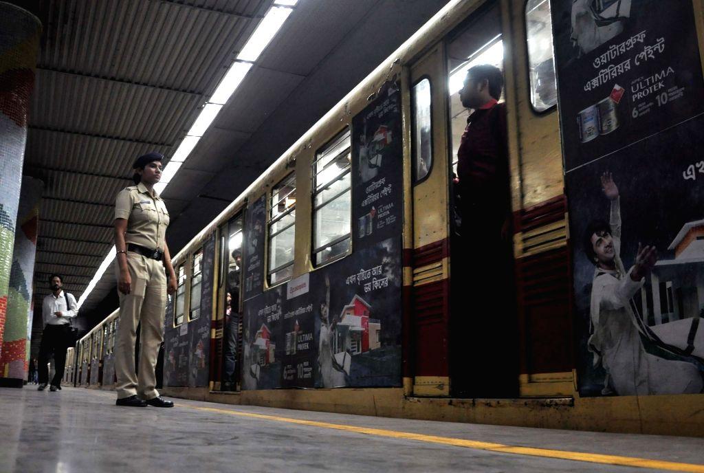 Kolkata Metro. (File Photo: IANS)